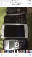 Used 4pcs mobile used not work in Dubai, UAE