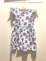 Used RED TAG Girl Dress 12 to 18 months Blue. in Dubai, UAE