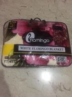 Used Flamingo blanket in Dubai, UAE