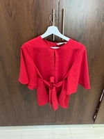 Used Zara, red top in Dubai, UAE