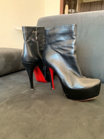 Used Christian Louboutin leather Boot in Dubai, UAE