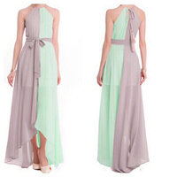 Used Elegant chiffon dress EU38 UK10 XL in Dubai, UAE