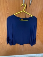 Forever21 blue top