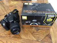 Used Nikon D5300 camer with kit lens & Nikkor in Dubai, UAE