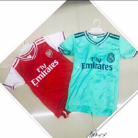 Used 2 Jersey Set for 2 yr old Boy 💙 in Dubai, UAE