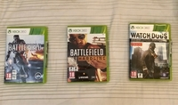 Used 3 games for Xbox 360 only at 180 AED  in Dubai, UAE