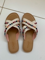 Used Toms flat sandals size36 in Dubai, UAE