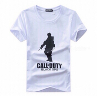 Fashion style mens T-Shirt army print XL