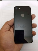 Used I phone7 jet black with box 128gb in Dubai, UAE