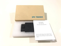 Used NEW OBD GPS tracker, plug and play black in Dubai, UAE