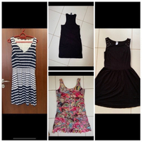 Used Bundle offers 4 dresses  in Dubai, UAE