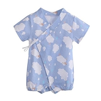 Used Sheep print baby cotton kimono rom in Dubai, UAE