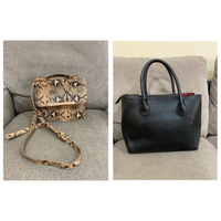 Used Colette & leather bag (combo sale) in Dubai, UAE