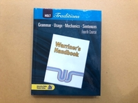 Used Holt tradition Warrimer's Handbook 4th  in Dubai, UAE