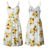 Used Summer 🌻Floral 🌻dress size S in Dubai, UAE