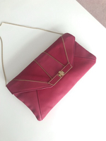 Used Pink clutch shoulder bag in Dubai, UAE