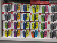 Used Joy-con new color switch Ctrl per pair in Dubai, UAE