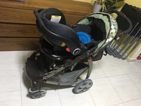 Used Car seat + stroller (GRACO brand) in Dubai, UAE
