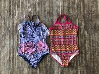 Used 2 swimsuits for a girl 8/9 years old  in Dubai, UAE