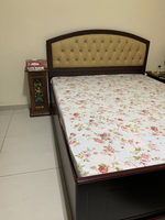 Used PanEmirates Queen Size Bed with storage in Dubai, UAE