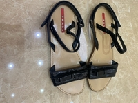 Used Authentic Prada sandals for kids  in Dubai, UAE