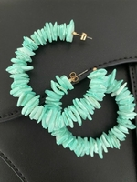 Used Zara Turquoise Earrings in Dubai, UAE