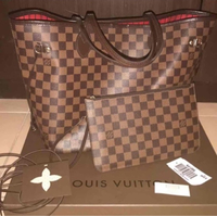Used Louis Vuitton Neverfull MM Damier Ebene in Dubai, UAE
