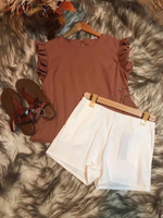 Used Brand new Top and shorts in Dubai, UAE