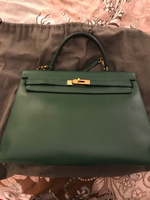 Used Vintage Green hermes kelly bag  in Dubai, UAE