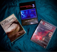 Used Three Horror Movie DVDs in Dubai, UAE