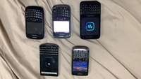 Used Blackberry lot in Dubai, UAE