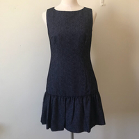 New Jaeger Blue lace Dress Small