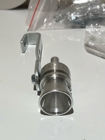 Used Car turbine exhaust whistle silver 2 pcs in Dubai, UAE