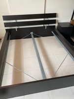 Used IKEA KING SIZE BED for 1000AED in Dubai, UAE