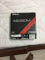 Used Asrock AMD gaming motherboard AB350M  in Dubai, UAE