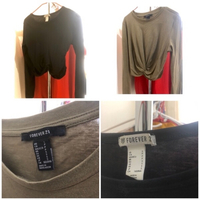 Used Forever21 Two Long-sleeve Tops ✨ in Dubai, UAE