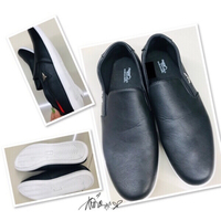 Used Black upper leather Men's Shoes-42 💙 in Dubai, UAE