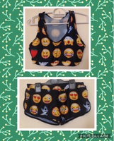 NEW Emoji Two-Piece Bikini MEDIUM