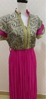 Used beautiful fusia dress  in Dubai, UAE