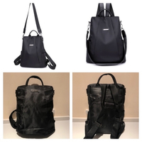 Used Black backpack  in Dubai, UAE
