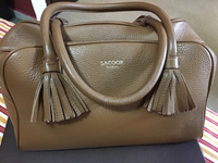 Used Sacoor leather bag in Dubai, UAE