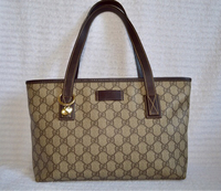 Used Authentic gucci GG tote leather trim in Dubai, UAE