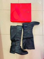 Used Black Boots Size 41 in Dubai, UAE