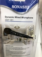 Used SONASHI dynamic wired microphone/ new in Dubai, UAE