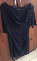 Used Ralph Lauren dress Navy blue size 10 in Dubai, UAE