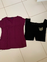 Used Tommy Hilfiger blouse and leggings free in Dubai, UAE