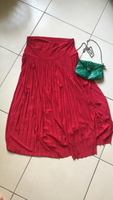 Used C&A red skirt size 40 in Dubai, UAE