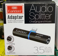 iPhone splitter for audio call & charge
