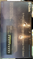 Used D-Link 8-Port Gigabit Switch DGS-1008P in Dubai, UAE