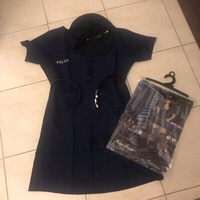 Used police costume brand new one size in Dubai, UAE